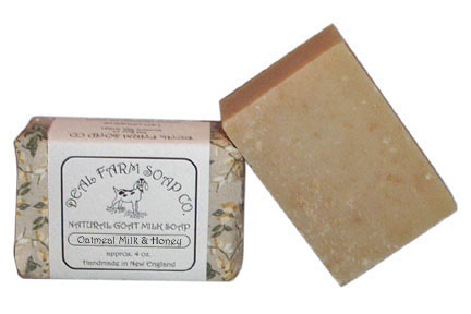 Oatmeal, Milk and Honey Goat Milk Soap