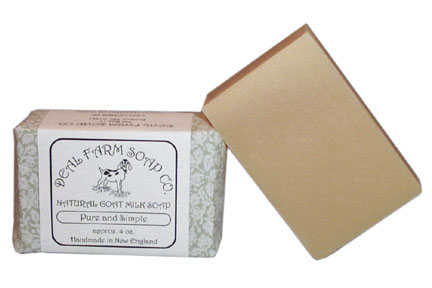 Pure and Simple Goat Milk Soap